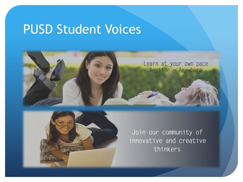 PUSD Student Voices