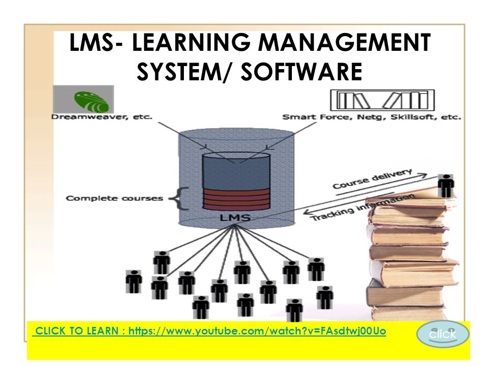 LMS- LEARNING MANAGEMENT SYSTEM/ SOFTWARE CLICK TO LEARN : https://www.youtube.com/watch?v=FAsdtwj00Uo click
