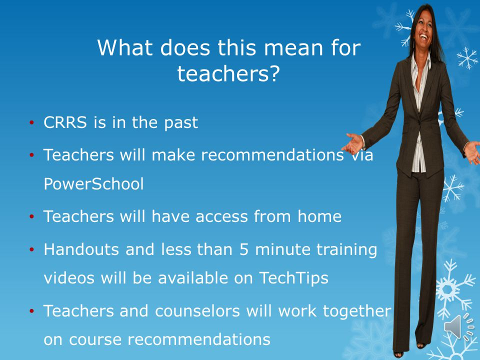 Course Recommendation Process 2014 **5 th Grade Teachers only**