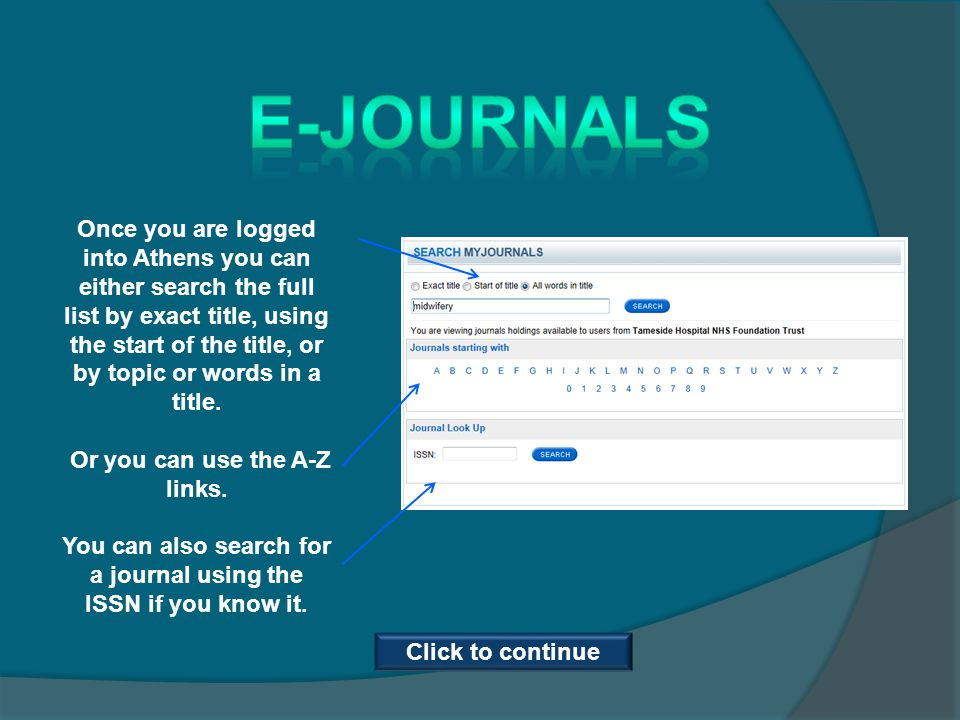 Viewing full text articles… Once you have opened the full text article you will notice options for either saving, printing or emailing the article.