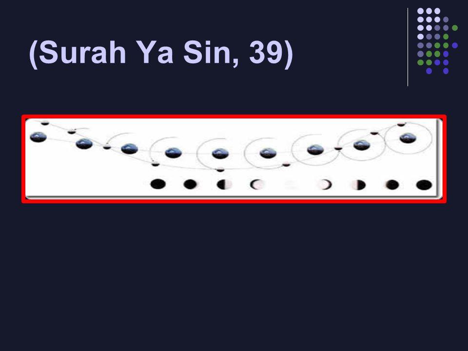 (Surah Ya Sin, 39)
