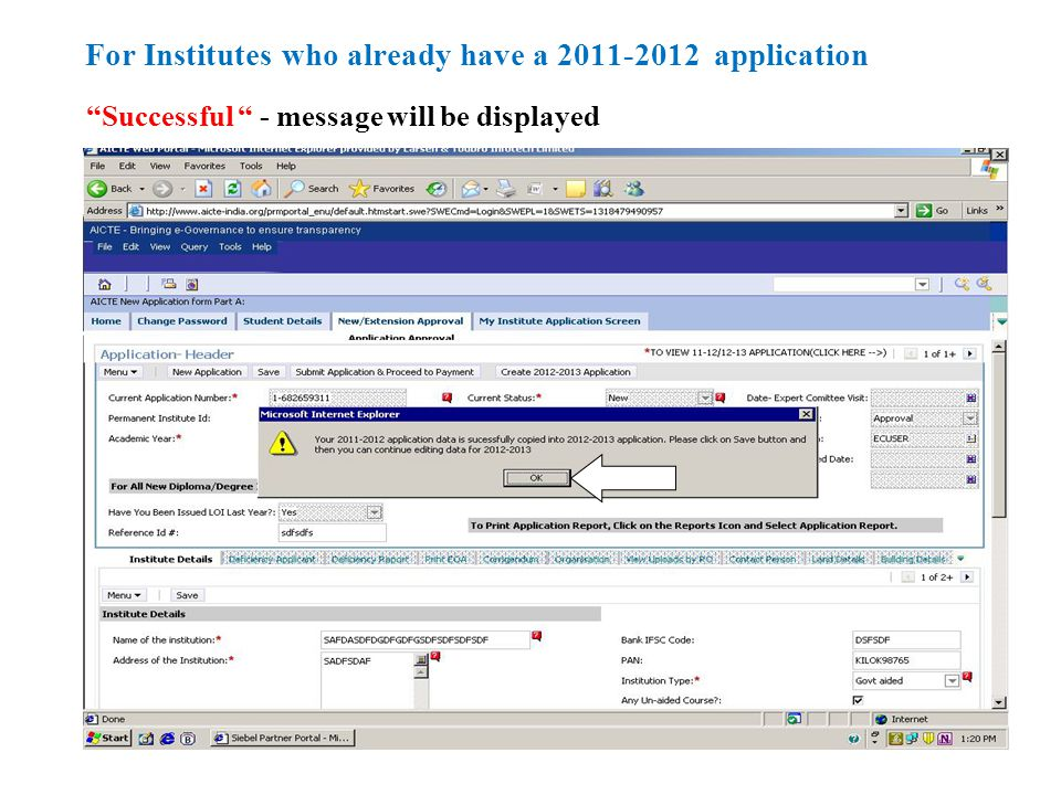 In Faculty details tab, if a faculty has left institute, check the Left the Institute check box and enter the Faculty Relieved Date.