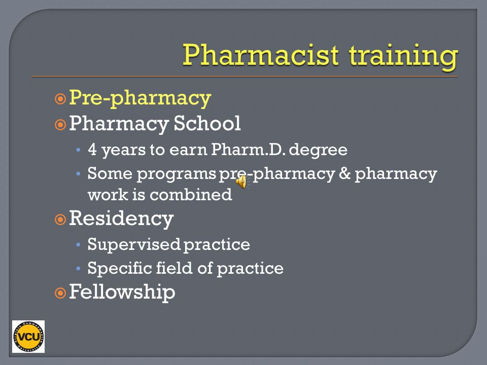 After this learning session, you should be able to: Discuss how pharmacists are trained Explain what pharmacists do Discuss career paths of pharmacist
