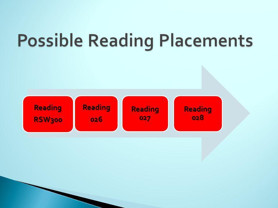 ReadingRSW300 Reading026 Reading 027 Reading 028