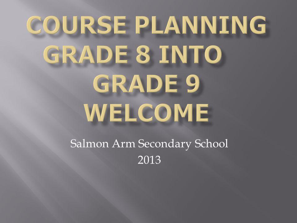 Salmon Arm Secondary School 2013