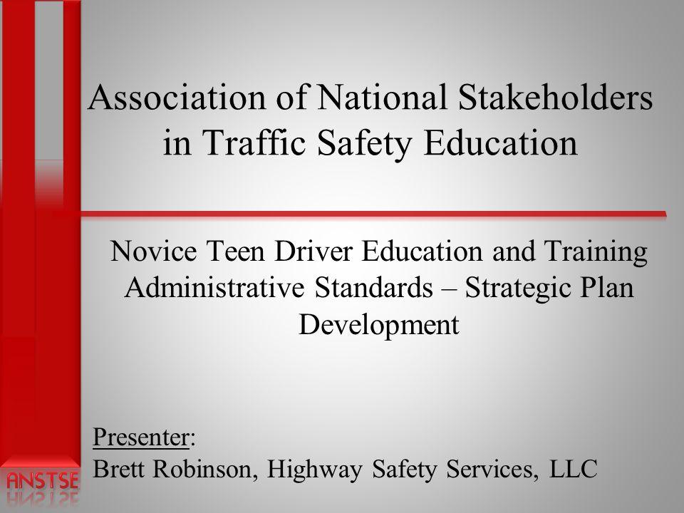 Slide 2 Presentation Topics 1.Teen Crash Involvement and Driver Education Facts.