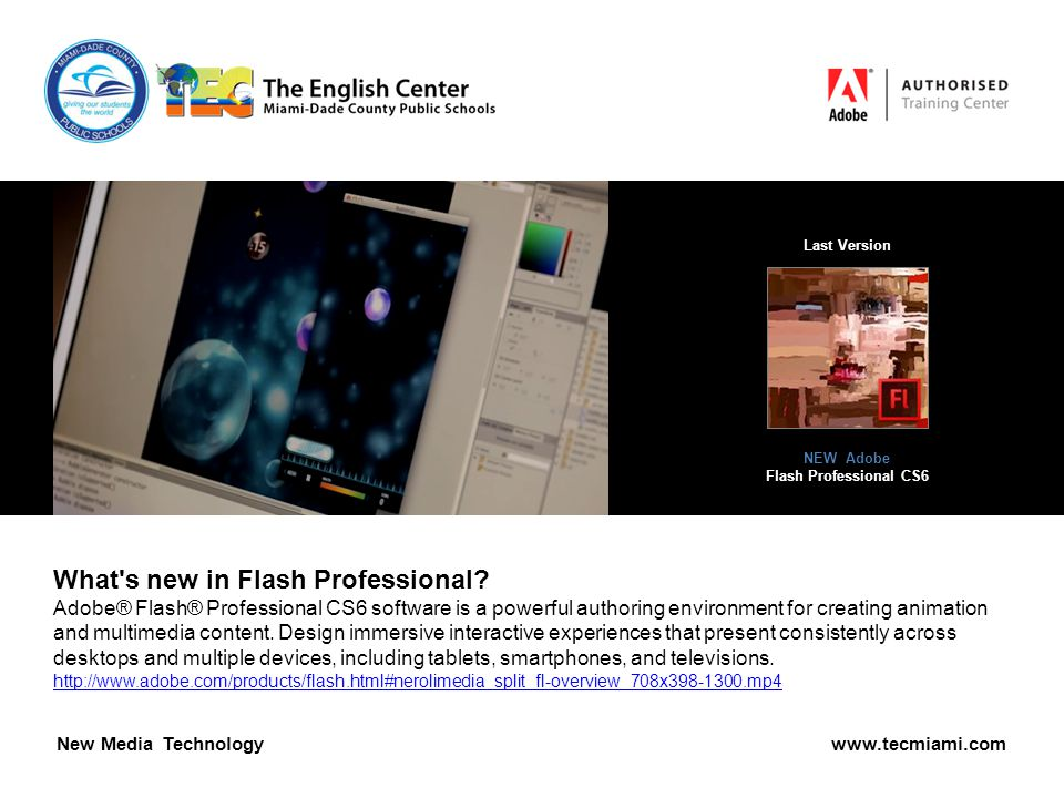 What s new in Flash Professional.