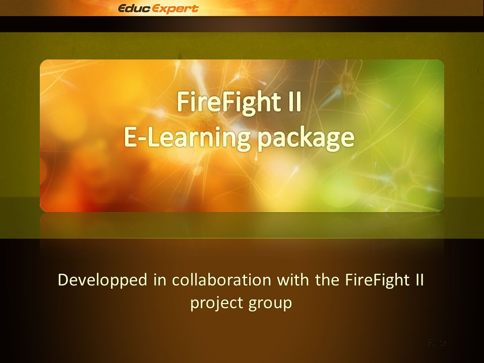Involvement To be or to become a firefighter is an important involvement.