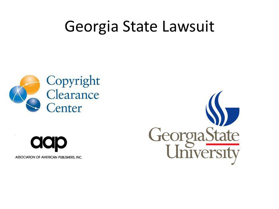 Georgia State Lawsuit