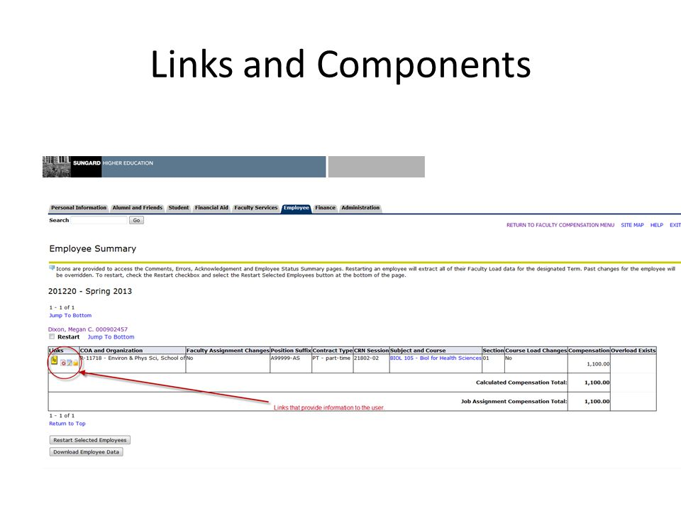 Links and Components