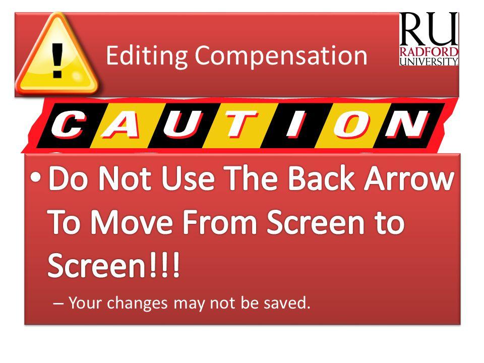 Editing Compensation