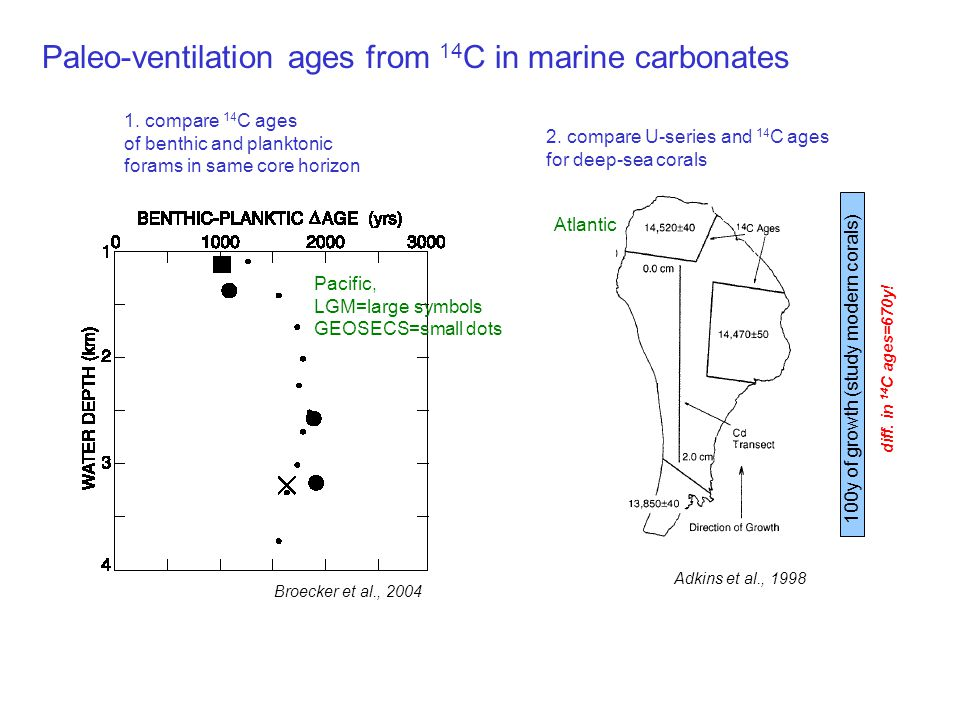 Radiocarbon in the Biosphere Approach: Use bomb 14 C as a tracer of carbon cycling in complex environments.