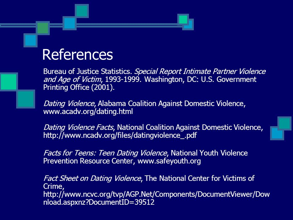 References Bureau of Justice Statistics.