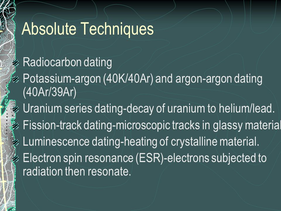 Radiocarbon dating Carbon 14- one peaceful by-product of accelerated wartime research into atomic physics and radioactivity in the 1940s.