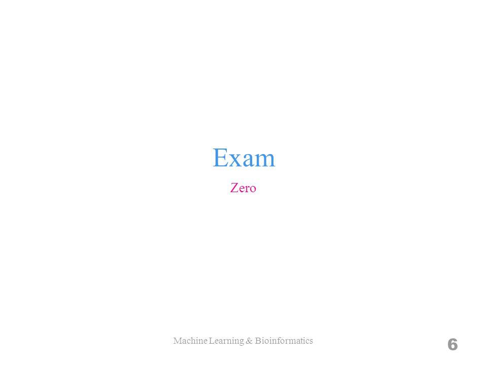 Mathematics Programming Machine Learning & Bioinformatics 17