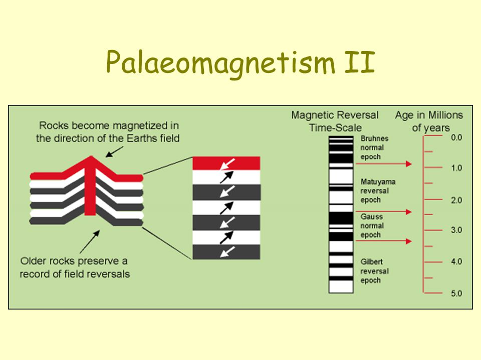 Palaeomagnetism II