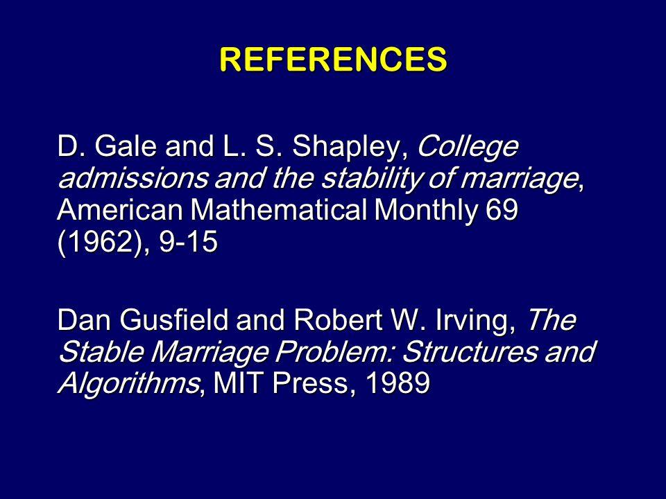 Steven Rudich: www.discretemath.com www.rudich.net Marry Well!