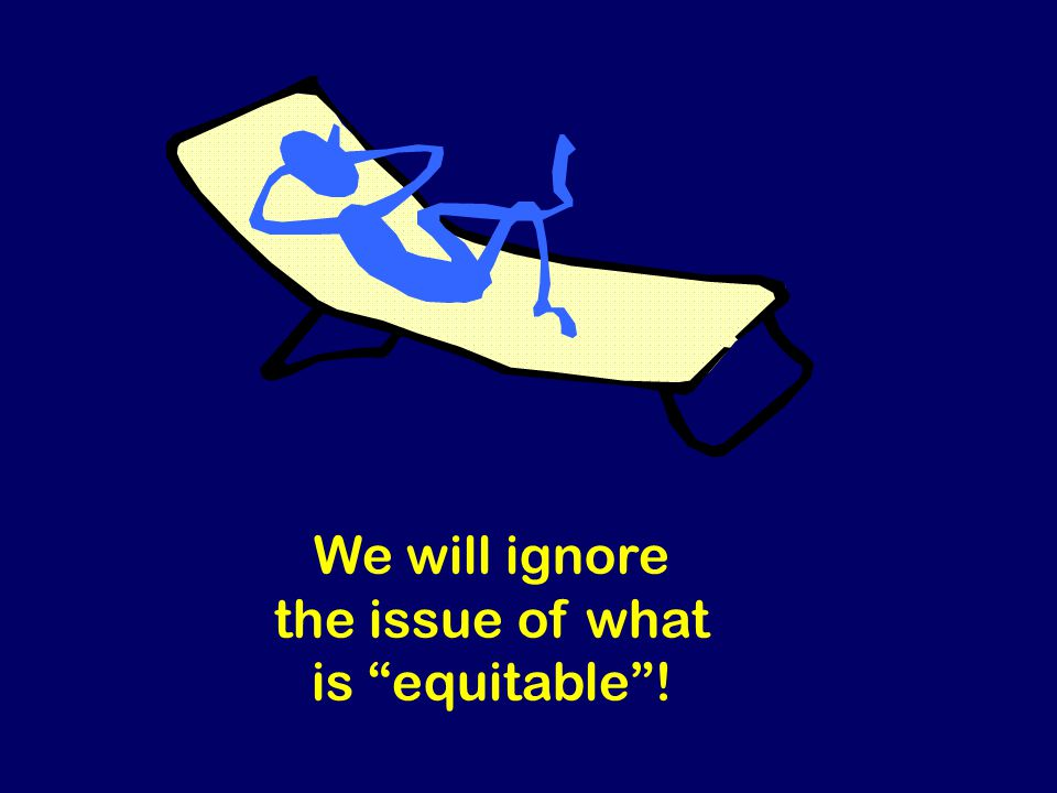 Steven Rudich: www.discretemath.com www.rudich.net We will ignore the issue of what is equitable!