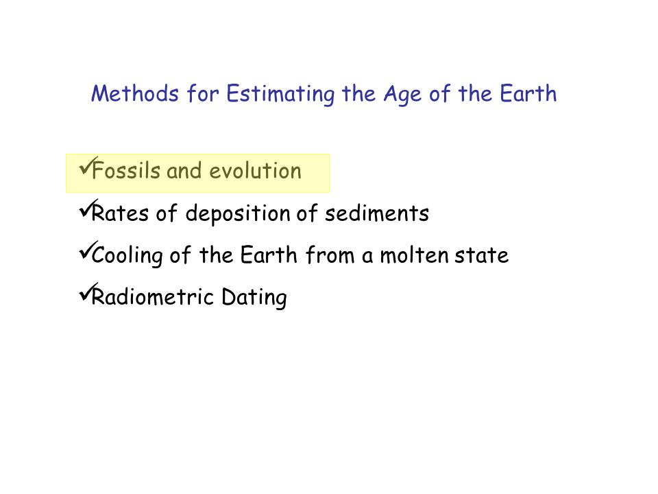 Fossils and Evolution Fossils = remains of ancient life.