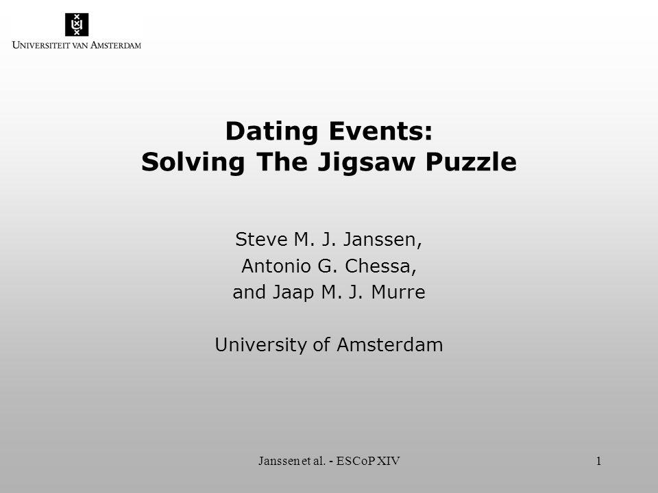 Janssen et al. - ESCoP XIV2 Jigsaw puzzle