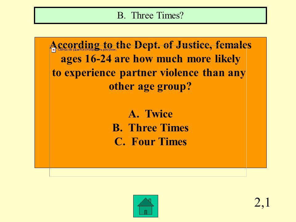 4,3 Teen females who are victims of dating violence will generally go to the police first.