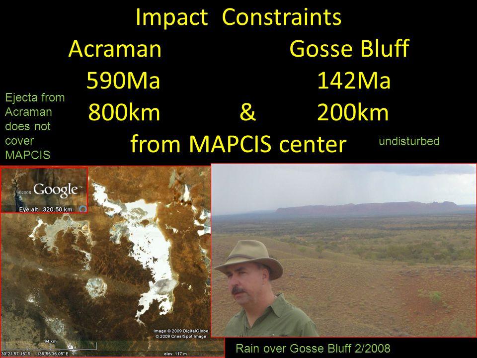 Alice Springs Orogeny Constraint ~450Ma Mutijulu Arkose,i Ayers RockMt.