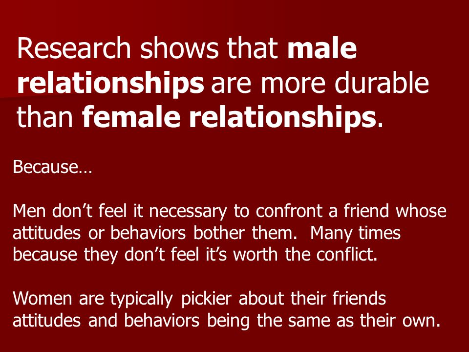 1.Relationships are based on shared conversations.