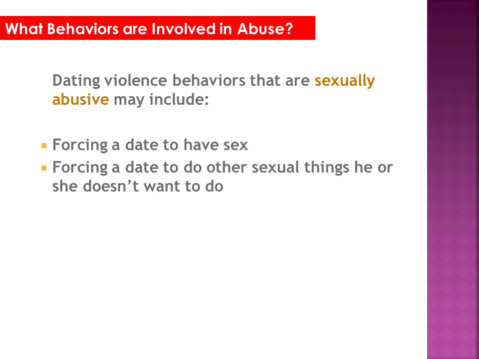 What are some RED FLAGS that someone may be in an abusive dating relationship.