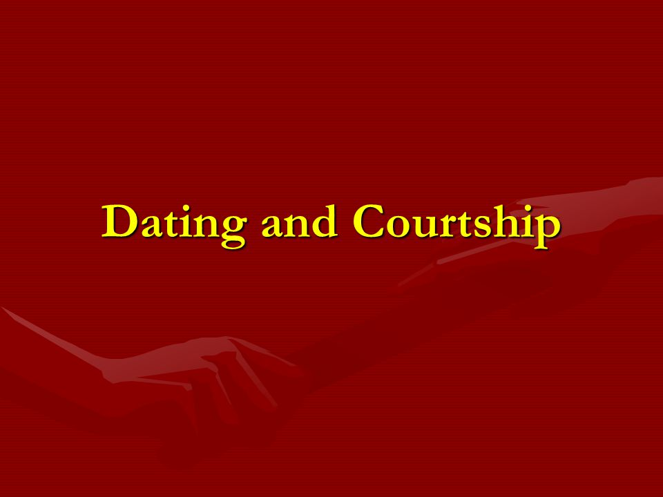 So what does dating have to do with Marital Success.