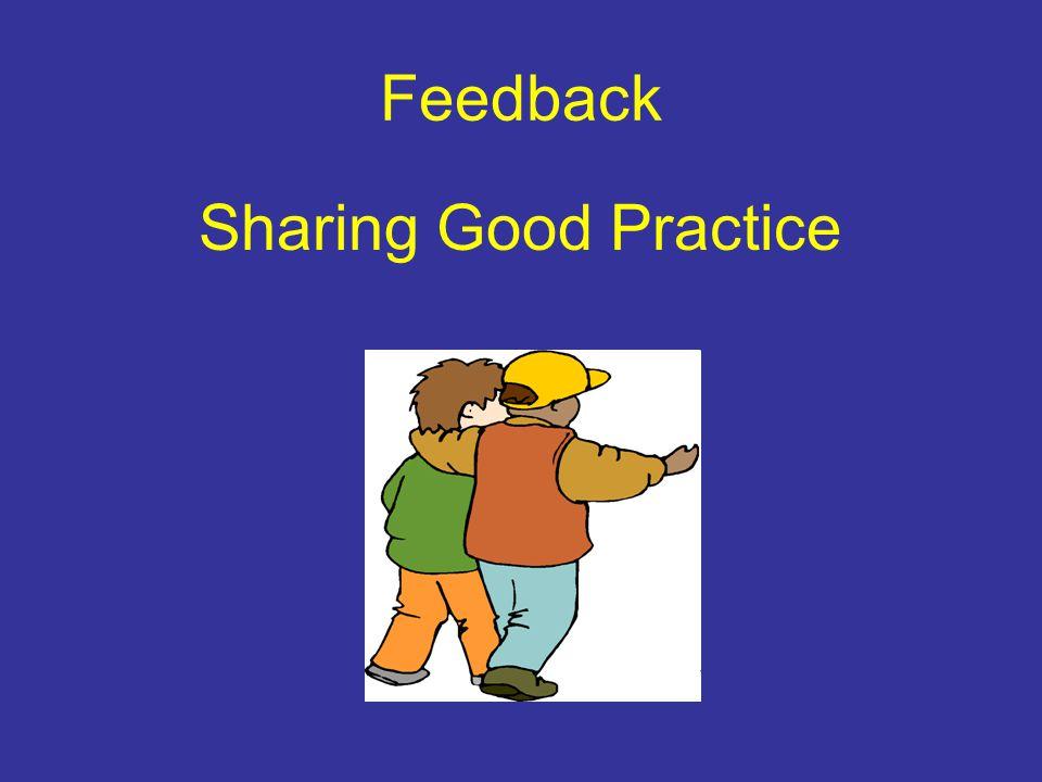 Feedback Sharing Good Practice