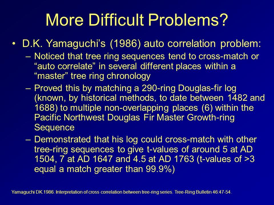 More Difficult Problems.D.K.