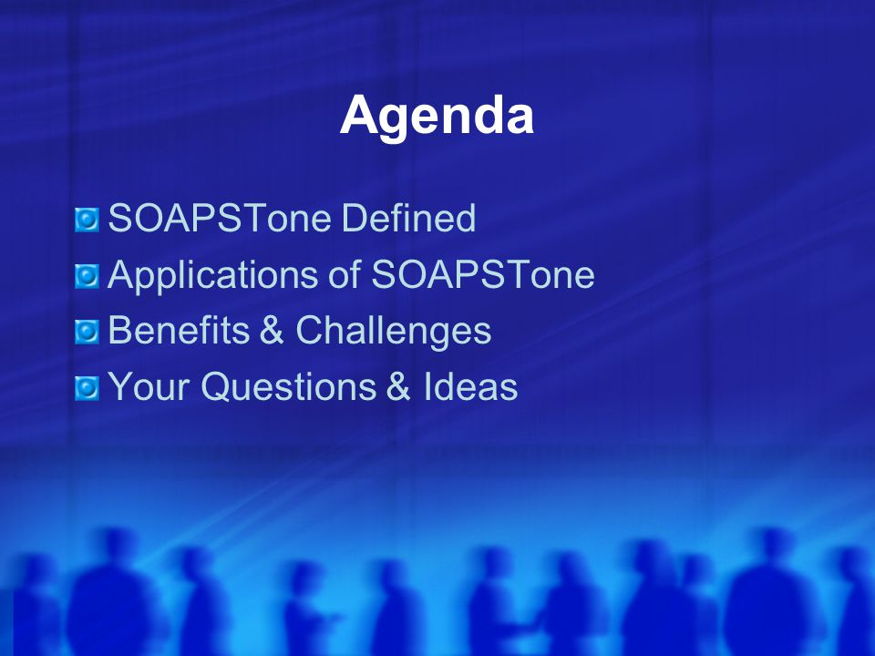 SOAPSTone Speaker Occasion Audience Purpose Subject Tone
