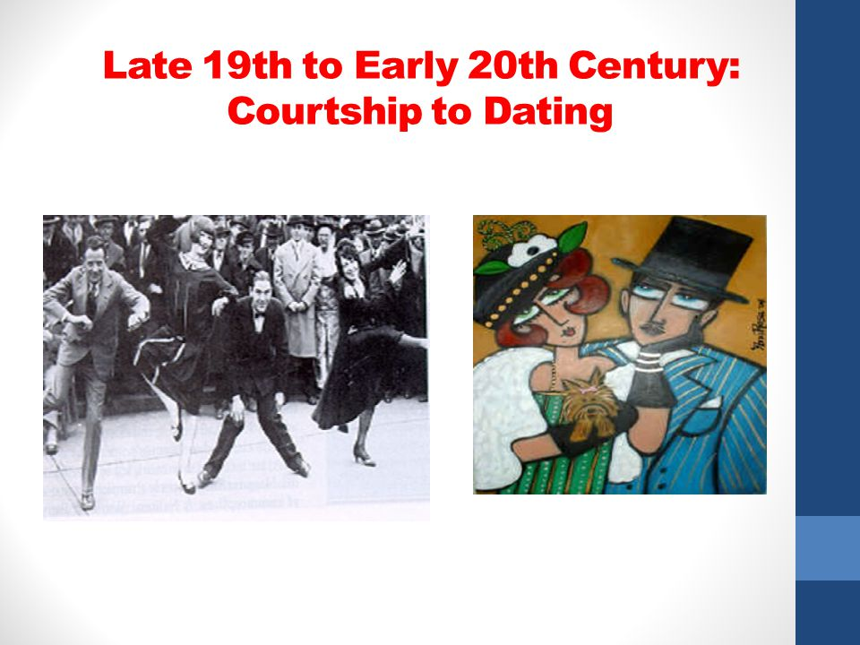 Late 19th to Early 20th Century: Courtship to Dating