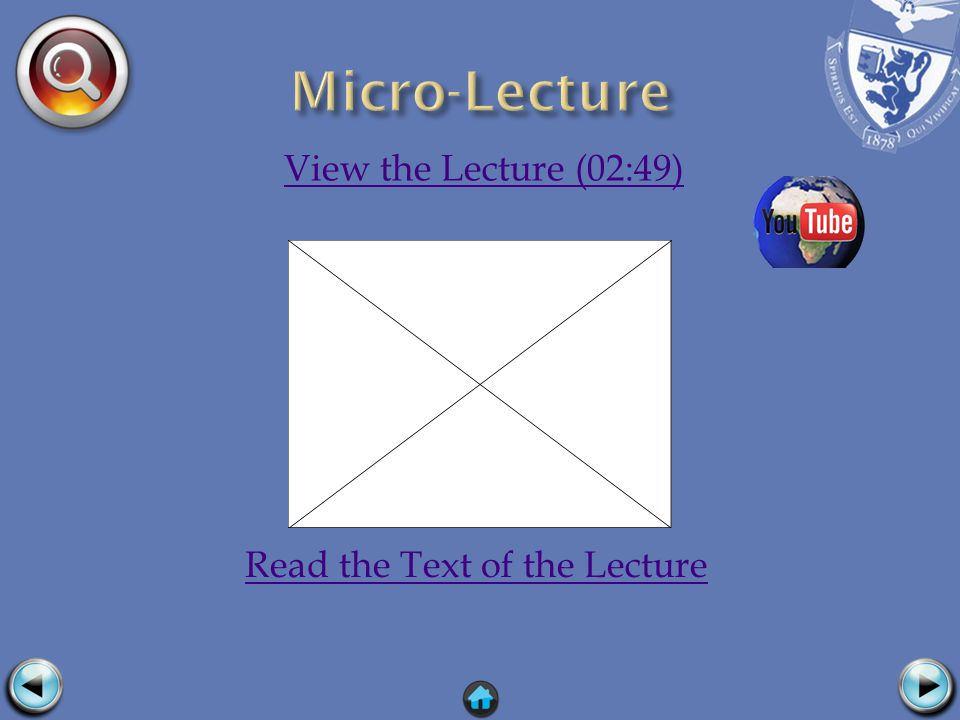View the Lecture (02:49) Read the Text of the Lecture