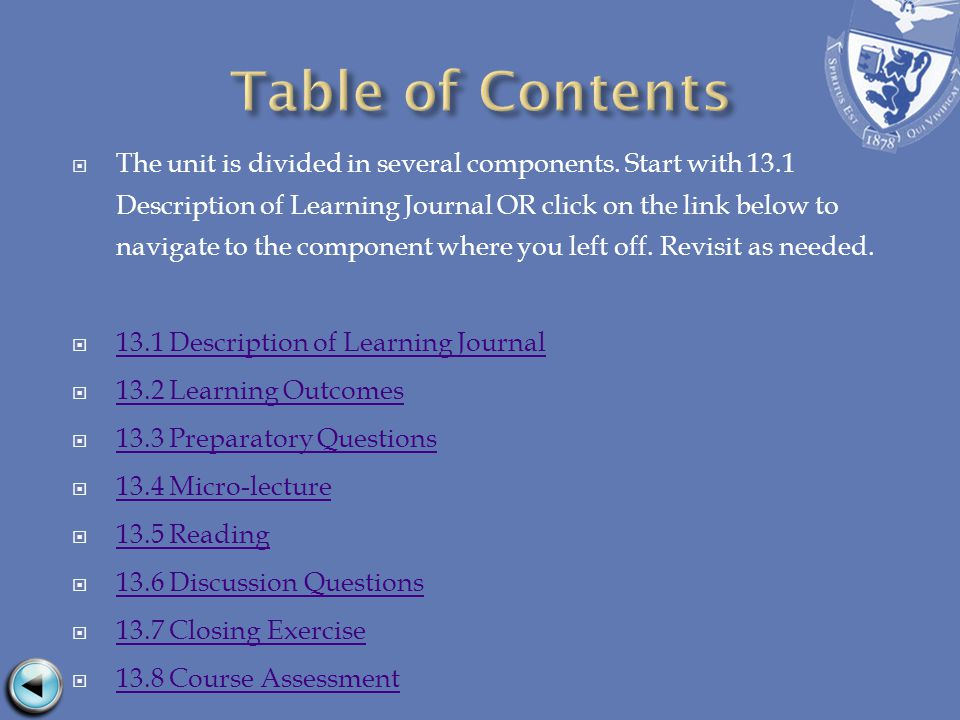 When you have completed this course, write a response to one of the following questions and post this to the course Wiki.