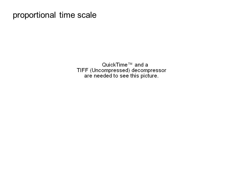 proportional time scale