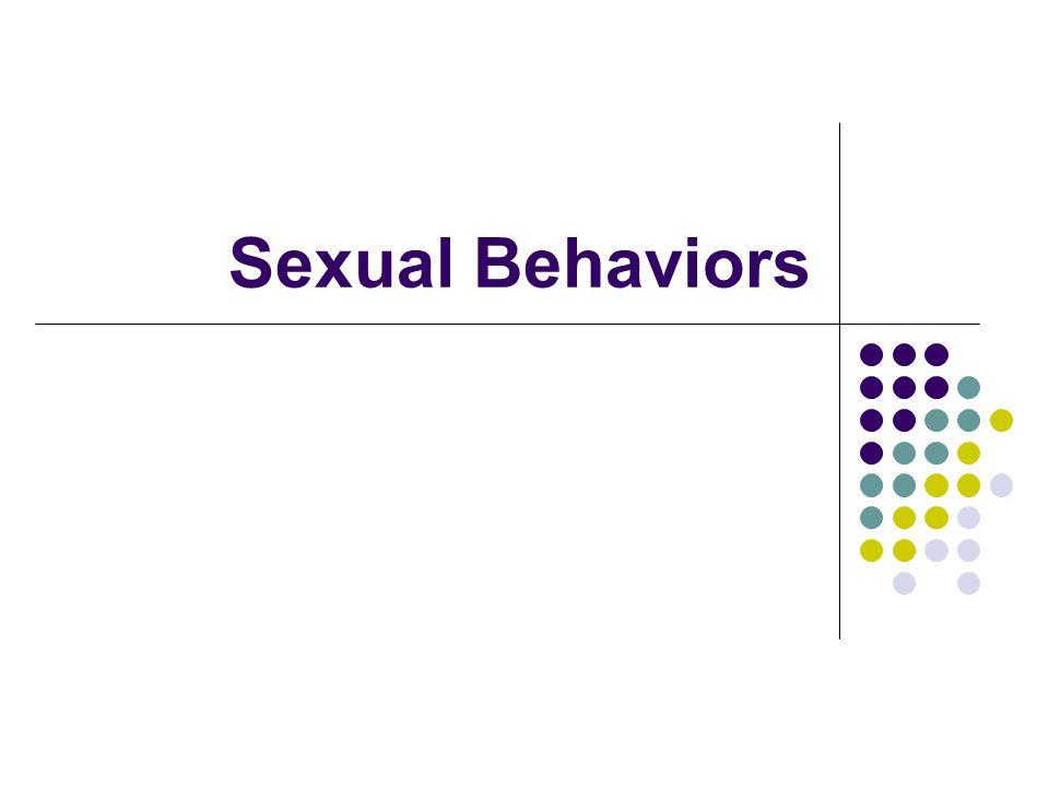 Sexual Behaviors