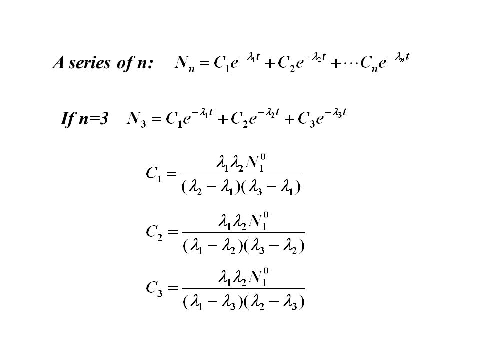 A series of n: If n=3