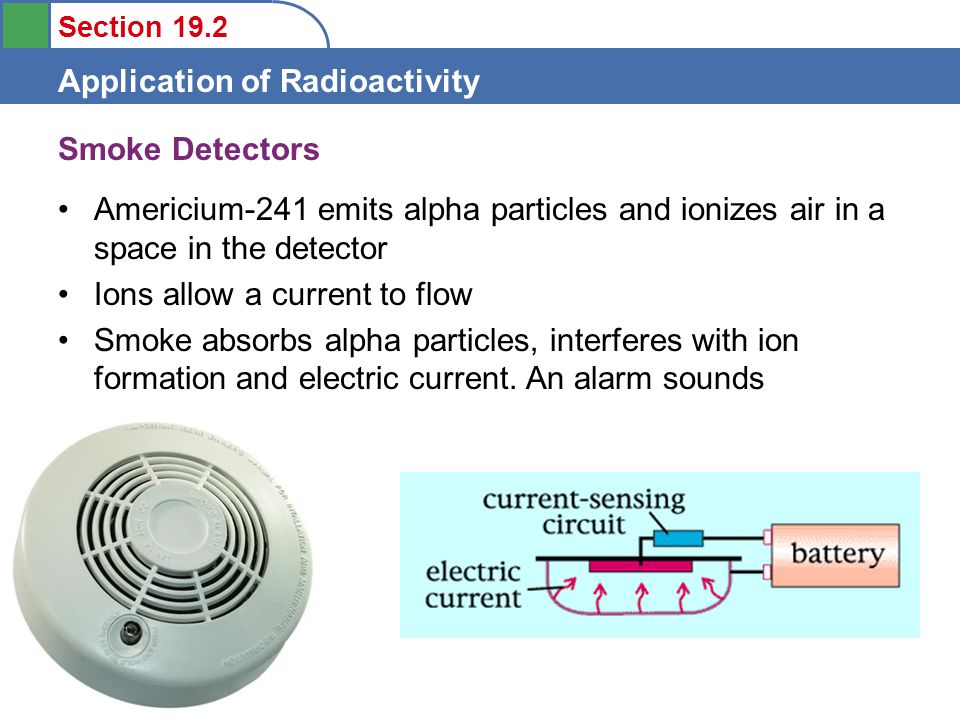Section 19.2 Application of Radioactivity Dating by Radioactivity Originated in 1940s by Willard Libby –Based on the radioactivity of carbon-14 Radiocarbon dating Used to date wood and artifacts up to about 50,000 years old Radiocarbon dating activity