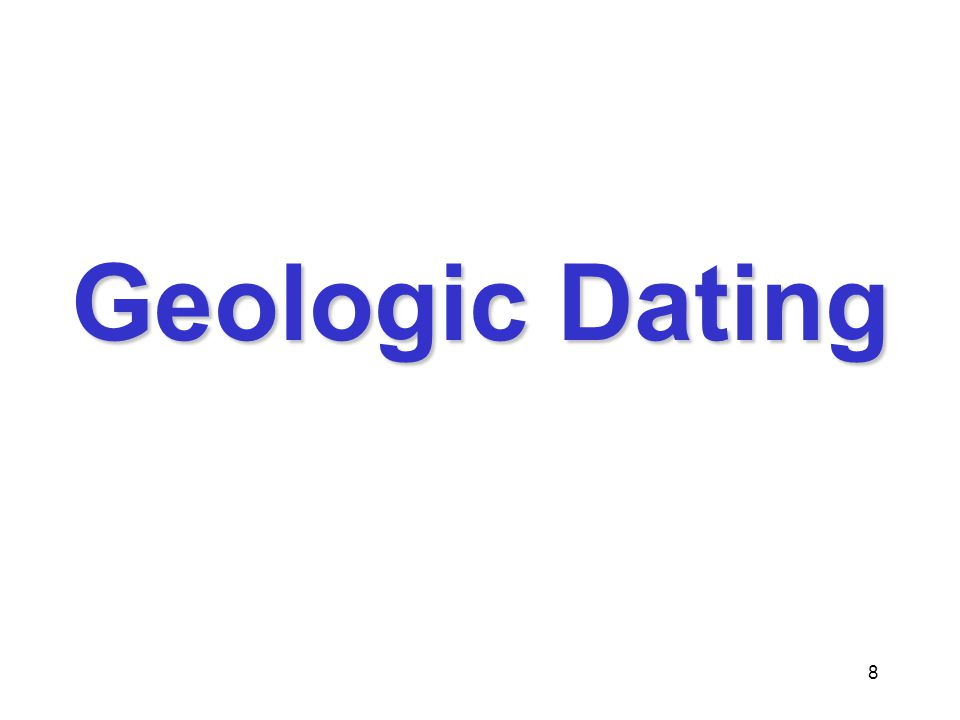 9 There are two types of Geologic Dating AbsoluteAbsolute –Determines how many years old something is RelativeRelative –Used to determine if one thing is younger or older than another