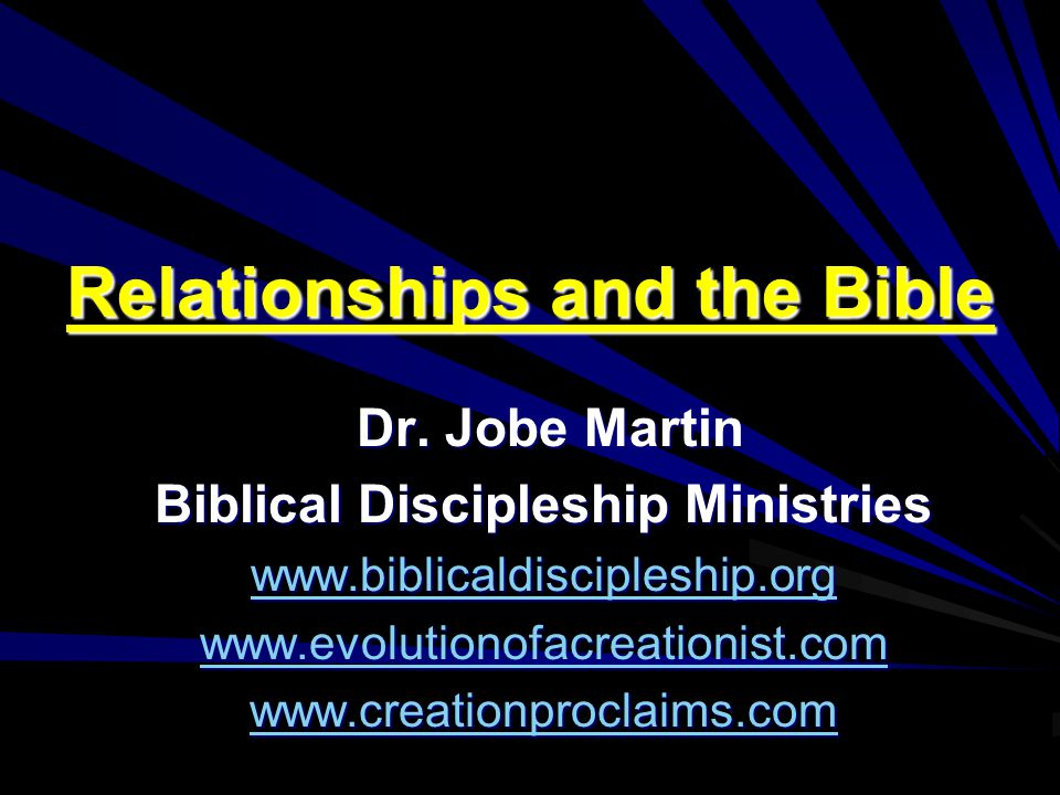 WWW.BIBLICALDISCIPLESHIP.ORG The disciples understood Jesus to say, Divorce is not an option.