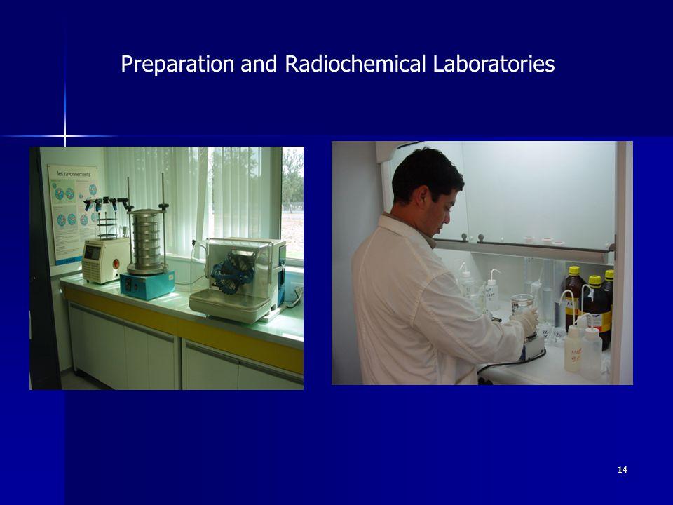 14 Preparation and Radiochemical Laboratories