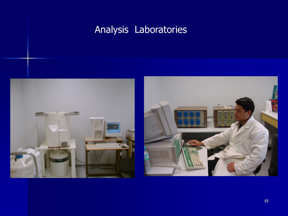 15 Analysis Laboratories