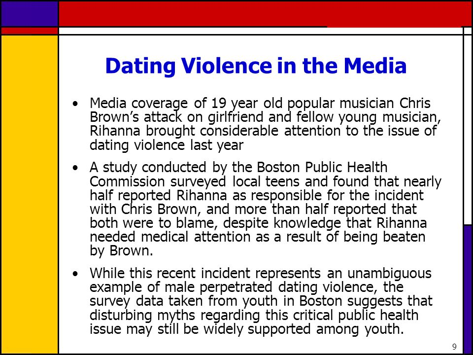 50 Discussion What do you think about the media attention and the response from Boston youth related to the Chris Brown and Rihanna incident.