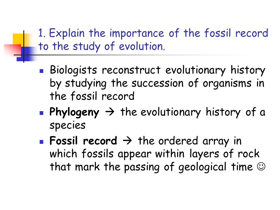 2.Describe how fossils form.