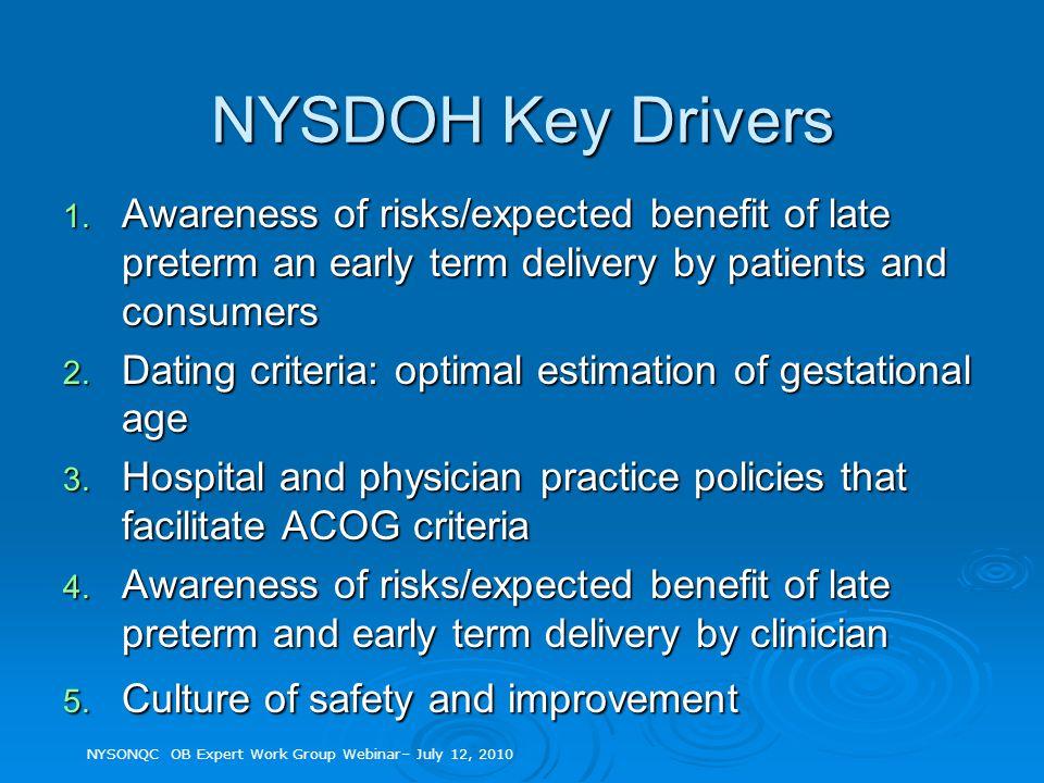 NYSDOH Key Drivers 1.