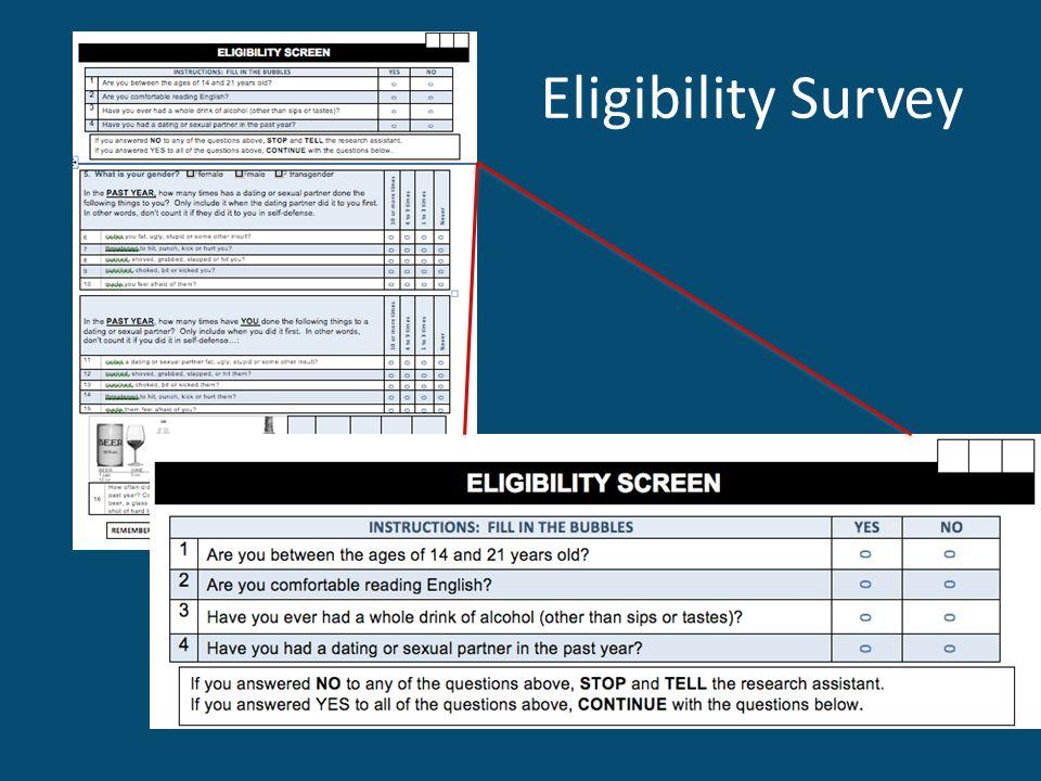 Eligibility Survey