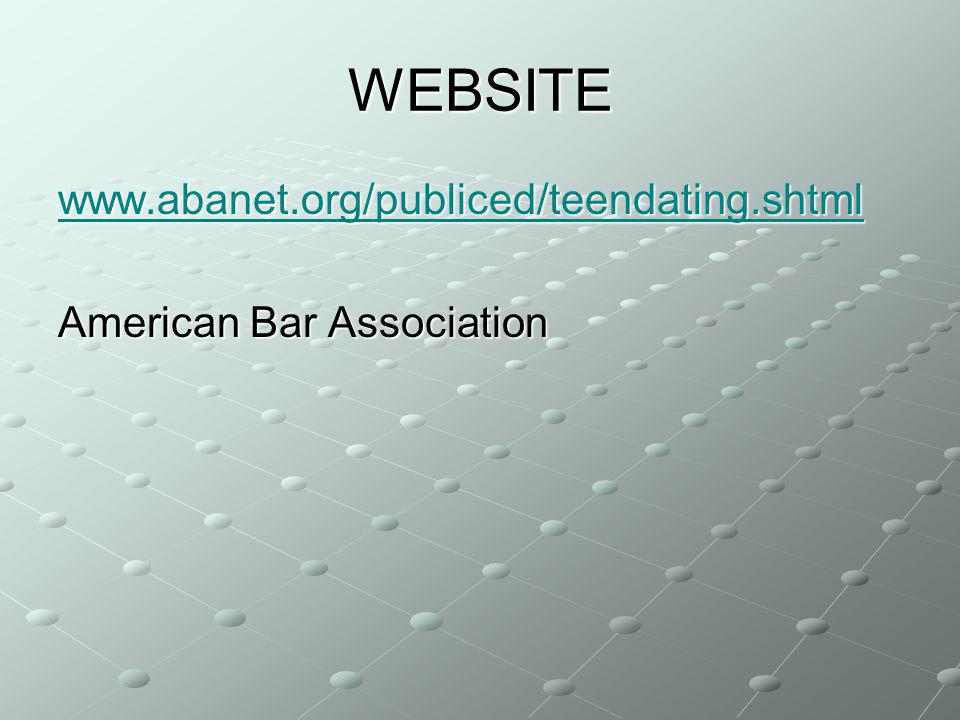 WEBSITE   American Bar Association