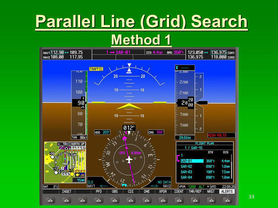 34 Parallel Line (Grid) Search Method 1