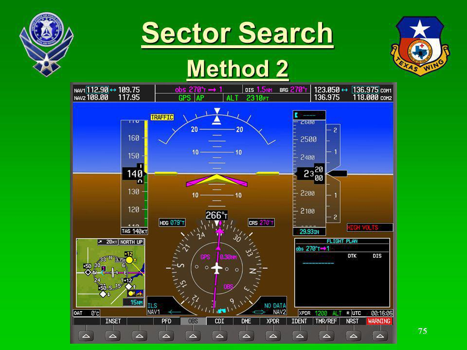 76 Sector Search Method 2